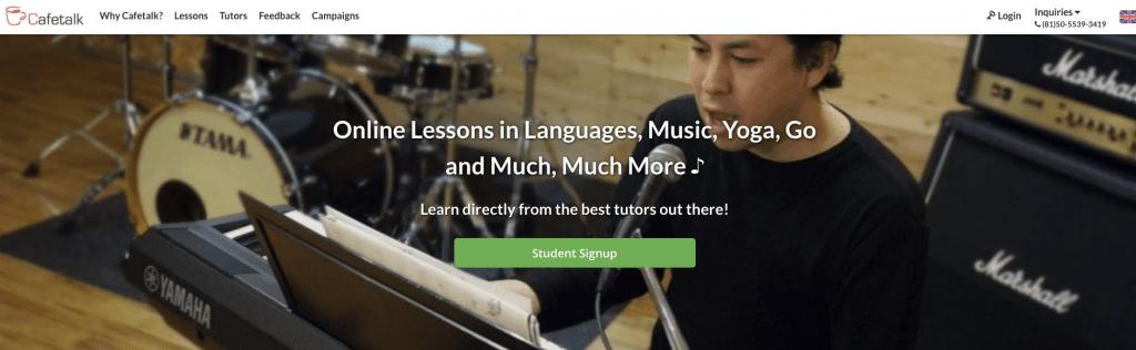 cafetalk teach english