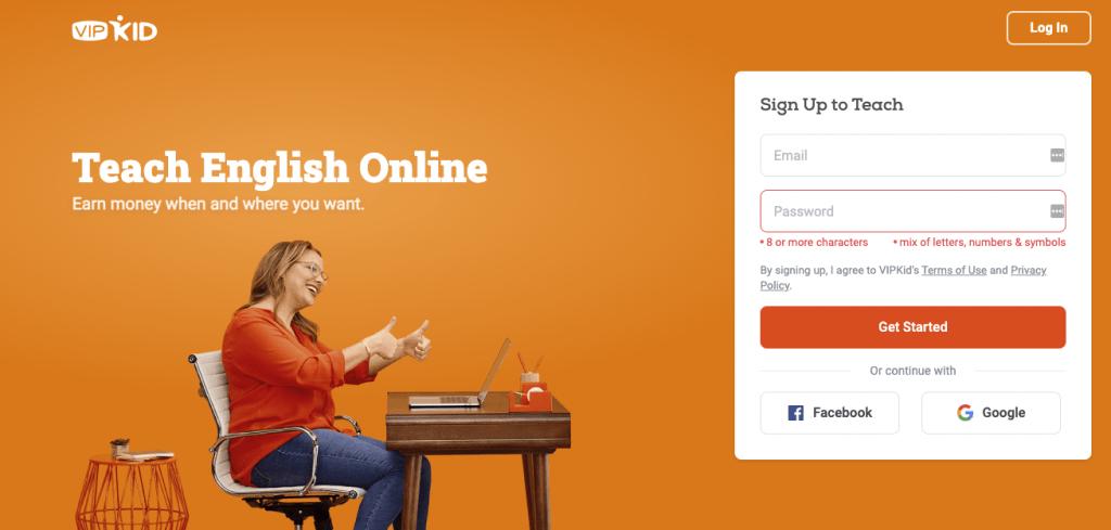 vipkid teach online
